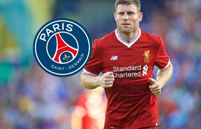 James Milner Paris