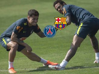 Neymar zog nach Coutinho